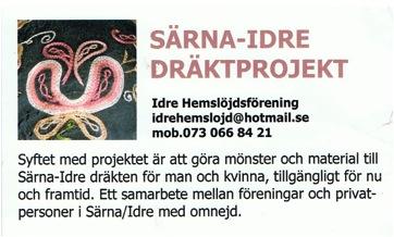 Dräktprojektet visitkort